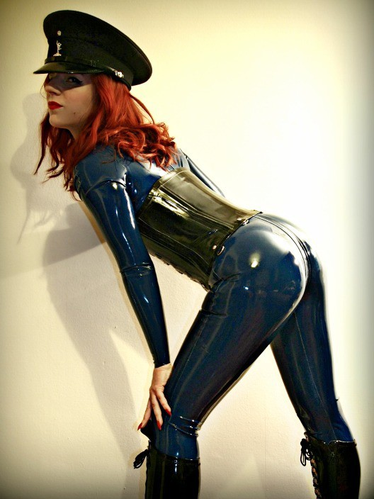 Image of Professional Dominatrix Manchester Mistress Lola Ruin in Latex Rubber