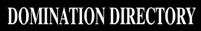 Banner Image for a Fetish, FemDom Directory website Dominatrion Directory