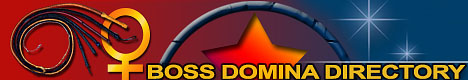 Banner Image for a Fetish, FemDom Directory website Boss Domina Directory